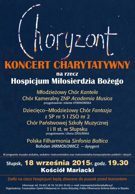 Oglądasz obraz z artykułu: Koncert charytatywny 18.09.2015