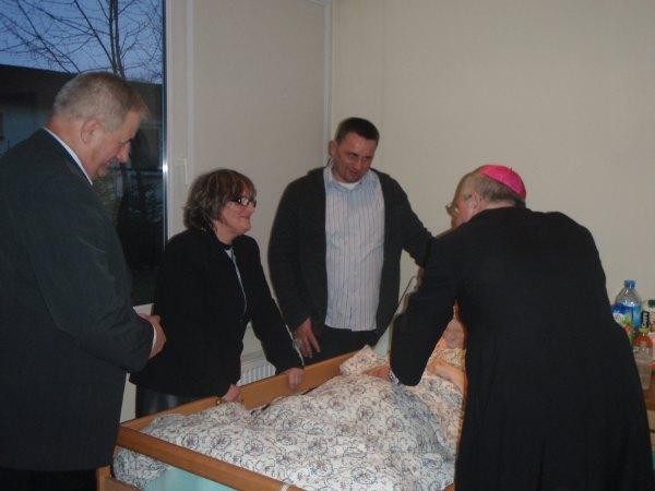 Oglądasz obraz z artykułu: Wizytacja Biskupa i Prezydenta Miasta Słupsk